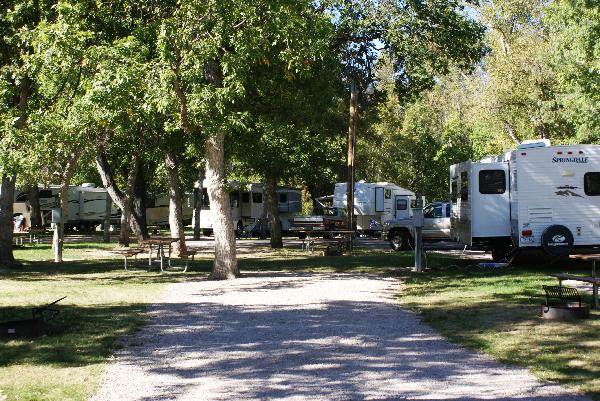 Spearfish City Campground Site 42