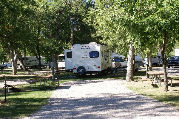 Spearfish City Campground Site 43