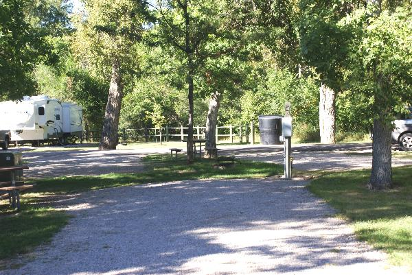 Spearfish City Campground Site 45