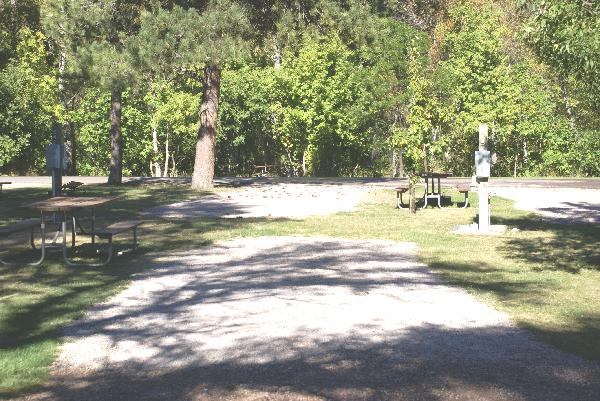 Spearfish City Campground Site 55
