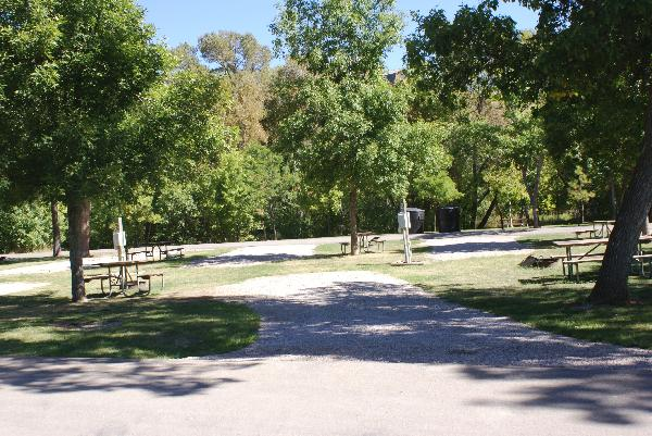 Spearfish City Campground Site 56