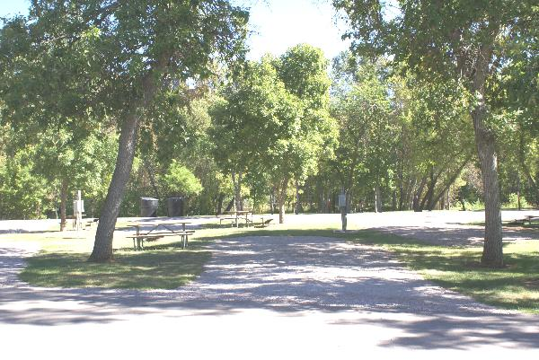 Spearfish City Campground Site 57