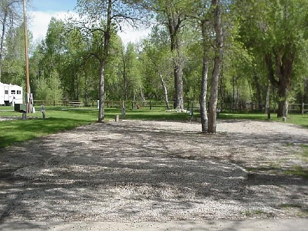 Spearfish City Campground Premium Site 2