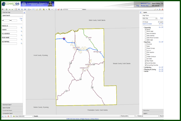 Lawrence County ConnectGIS