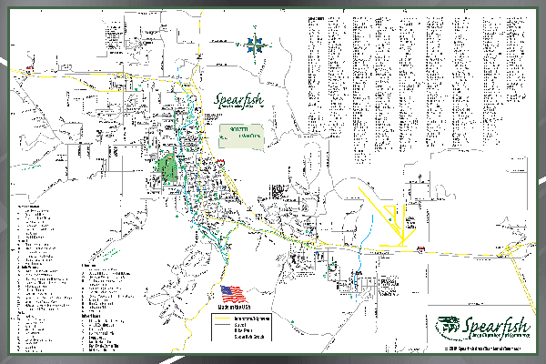 Spearfish Street Map (PDF)