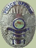2002 Police Officer Shield