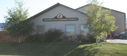 Exterior of the Western Hills Humane Society Animal Shelter